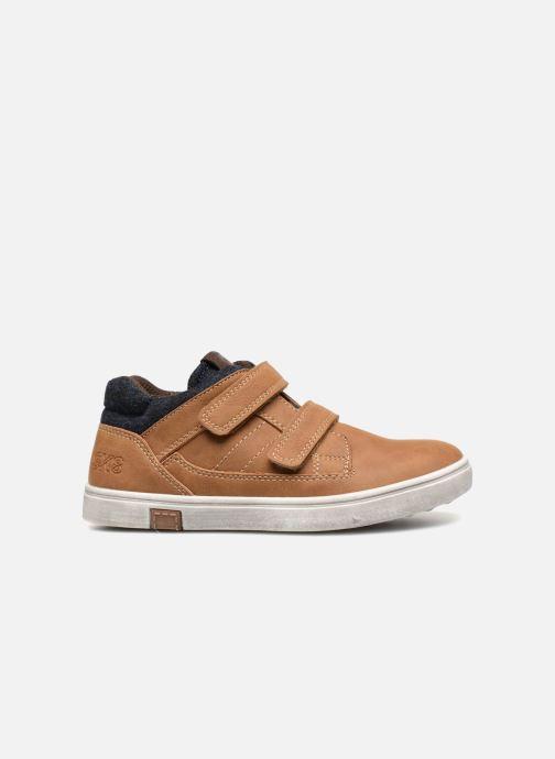 Sneakers Bopy Tassevel Sk8 Bruin achterkant