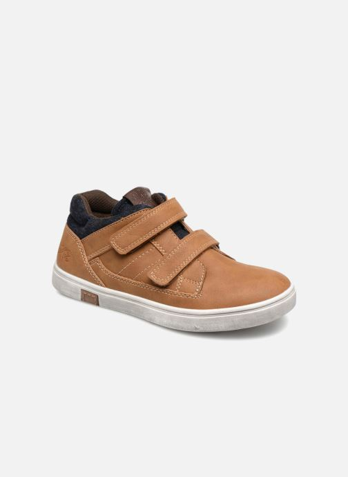 Baskets Bopy Tassevel Sk8 Marron vue détail/paire