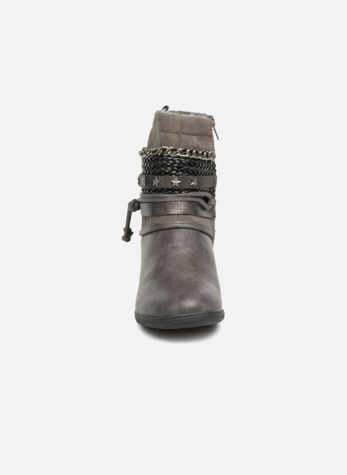Bottines et boots Dockers Saria Gris vue portées chaussures