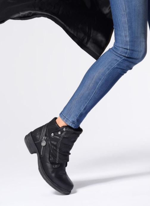 Bottines et boots Dockers Klea Or et bronze vue bas / vue portée sac