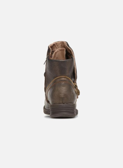 Bottines et boots Dockers Klea Or et bronze vue droite