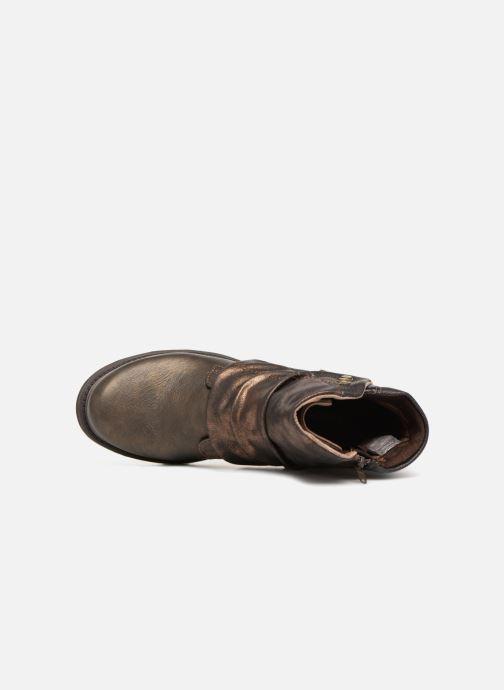 Bottines et boots Dockers Klea Or et bronze vue gauche