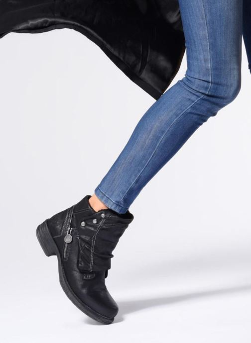 Bottines et boots Dockers Klea Noir vue bas / vue portée sac