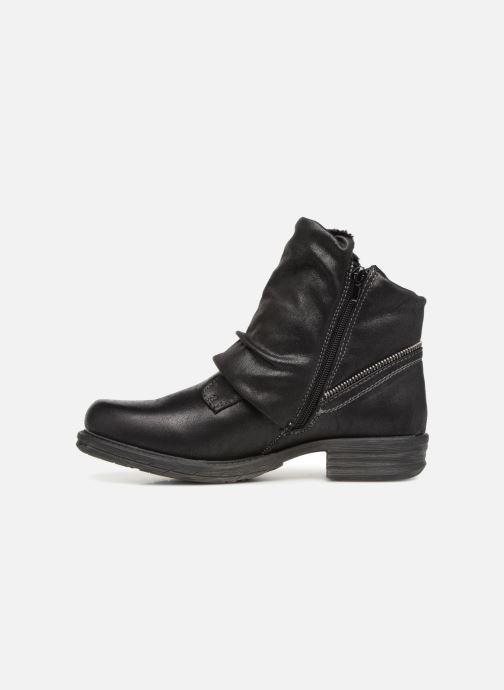 Bottines et boots Dockers Klea Noir vue face