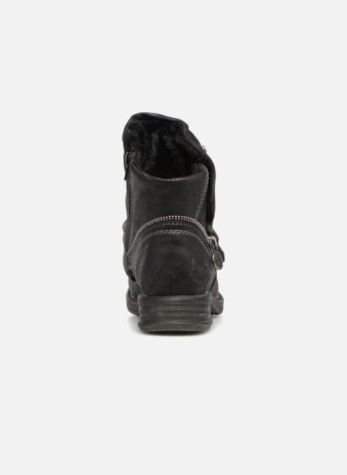Bottines et boots Dockers Klea Noir vue droite