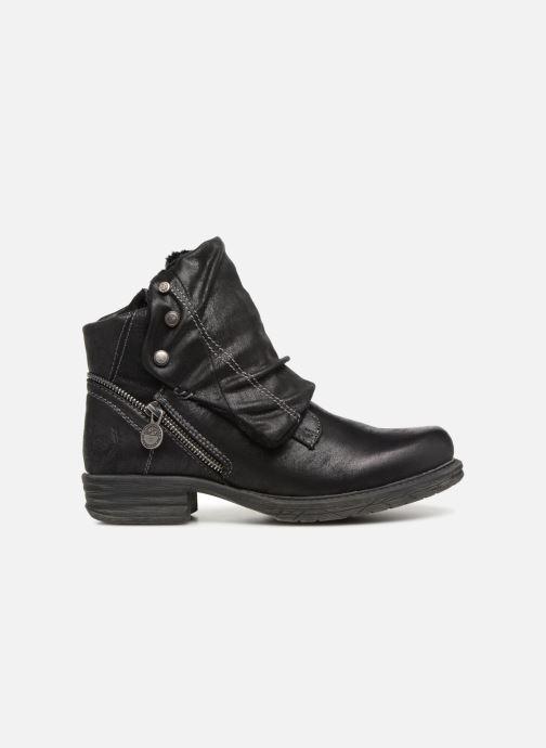 Bottines et boots Dockers Klea Noir vue derrière