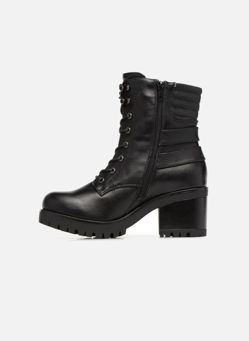 Bottines et boots Dockers Miah Noir vue face