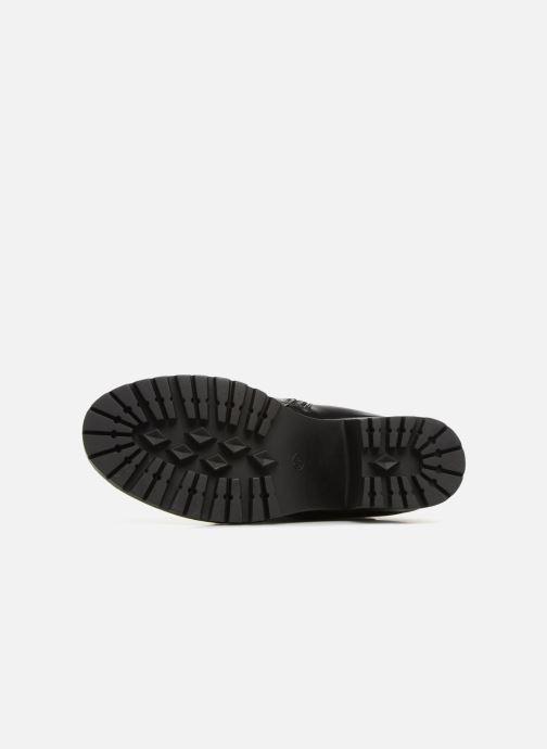 Bottines et boots Dockers Miah Noir vue haut