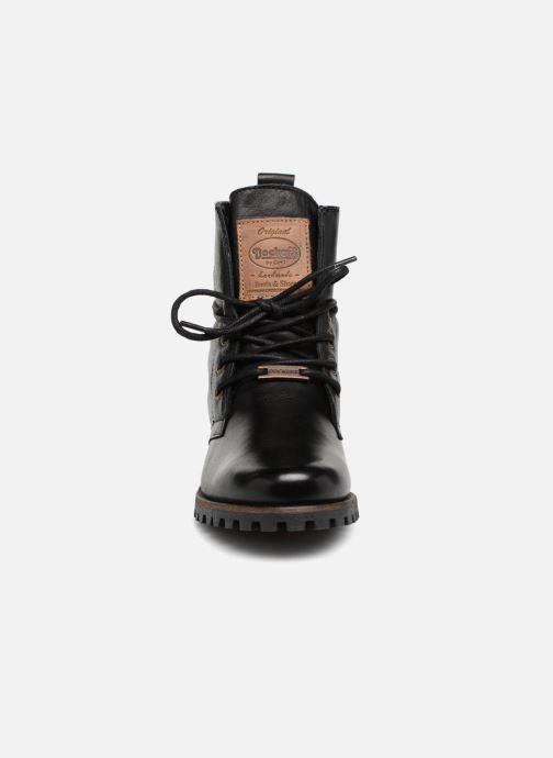Bottines et boots Dockers Alina Noir vue portées chaussures