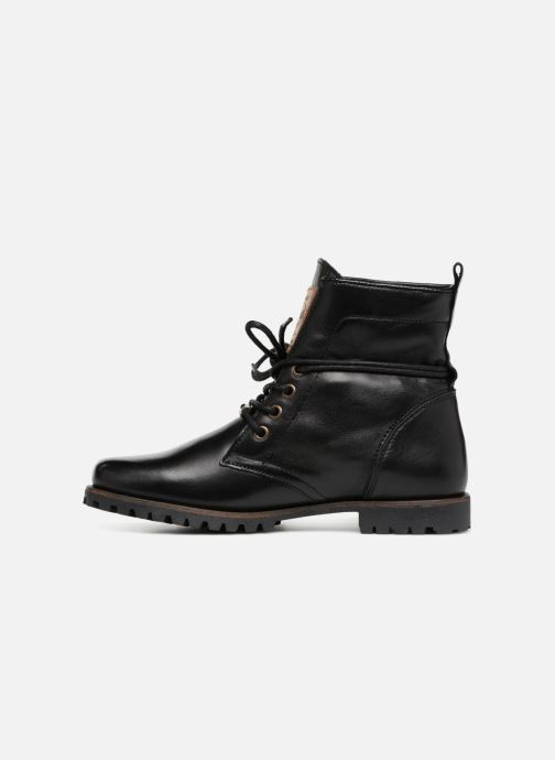 Bottines et boots Dockers Alina Noir vue face