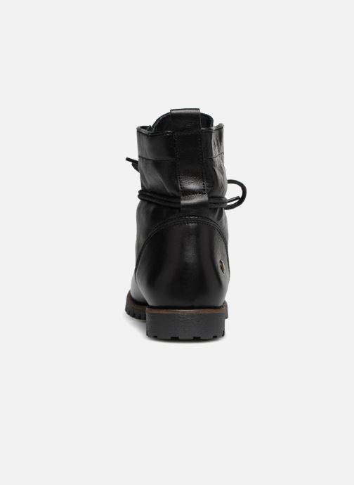 Bottines et boots Dockers Alina Noir vue droite