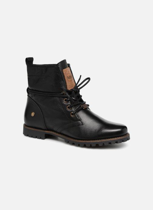 Boots en enkellaarsjes Dockers Alina Zwart detail