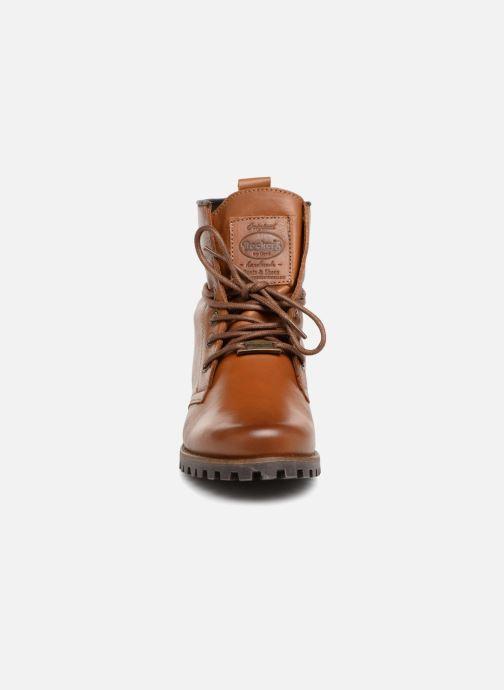 Bottines et boots Dockers Alina Marron vue portées chaussures