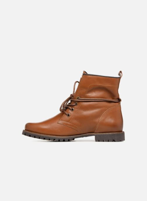 Bottines et boots Dockers Alina Marron vue face