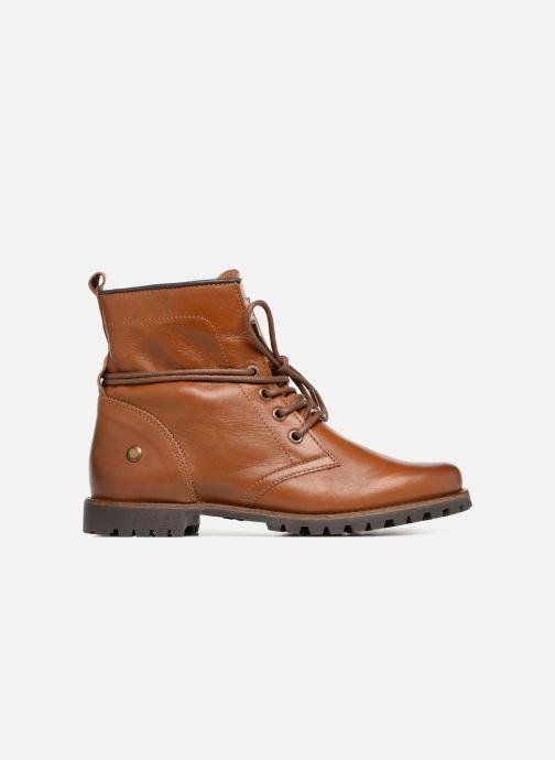 Bottines et boots Dockers Alina Marron vue derrière