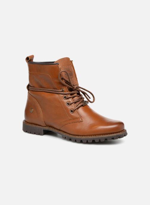 Bottines et boots Dockers Alina Marron vue détail/paire