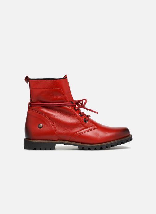 Bottines et boots Dockers Alina Rouge vue derrière