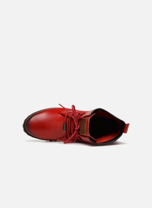 Bottines et boots Dockers Alina Rouge vue gauche