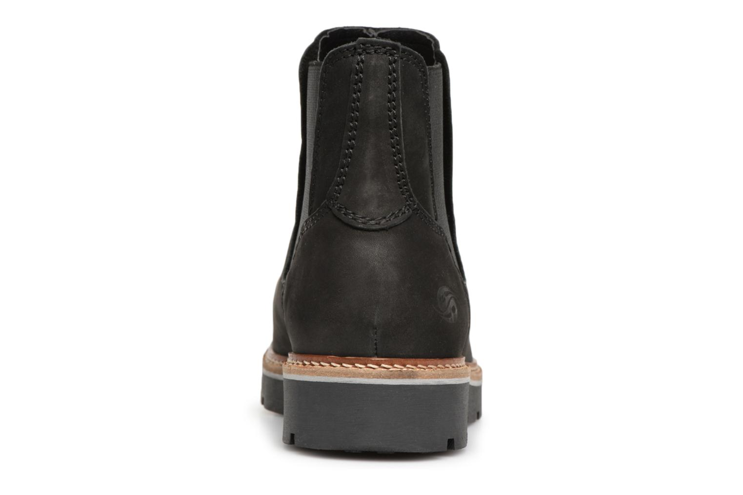 Ankle boots Dockers Greta Black view from the right