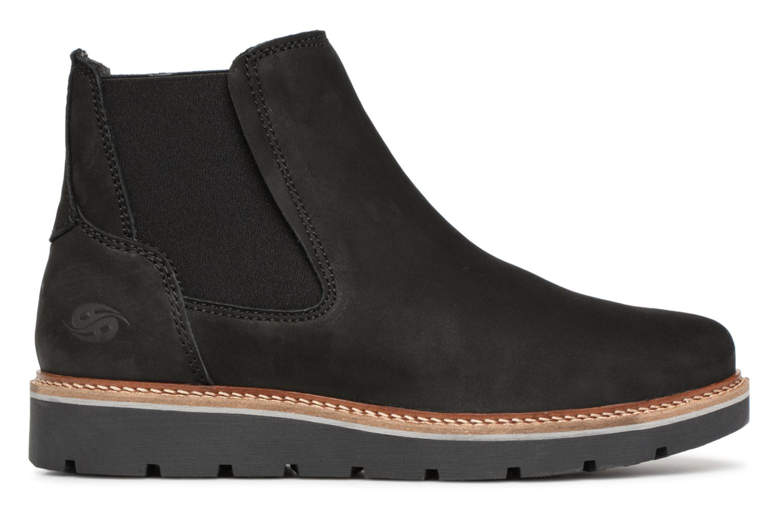 Ankle boots Dockers Greta Black back view