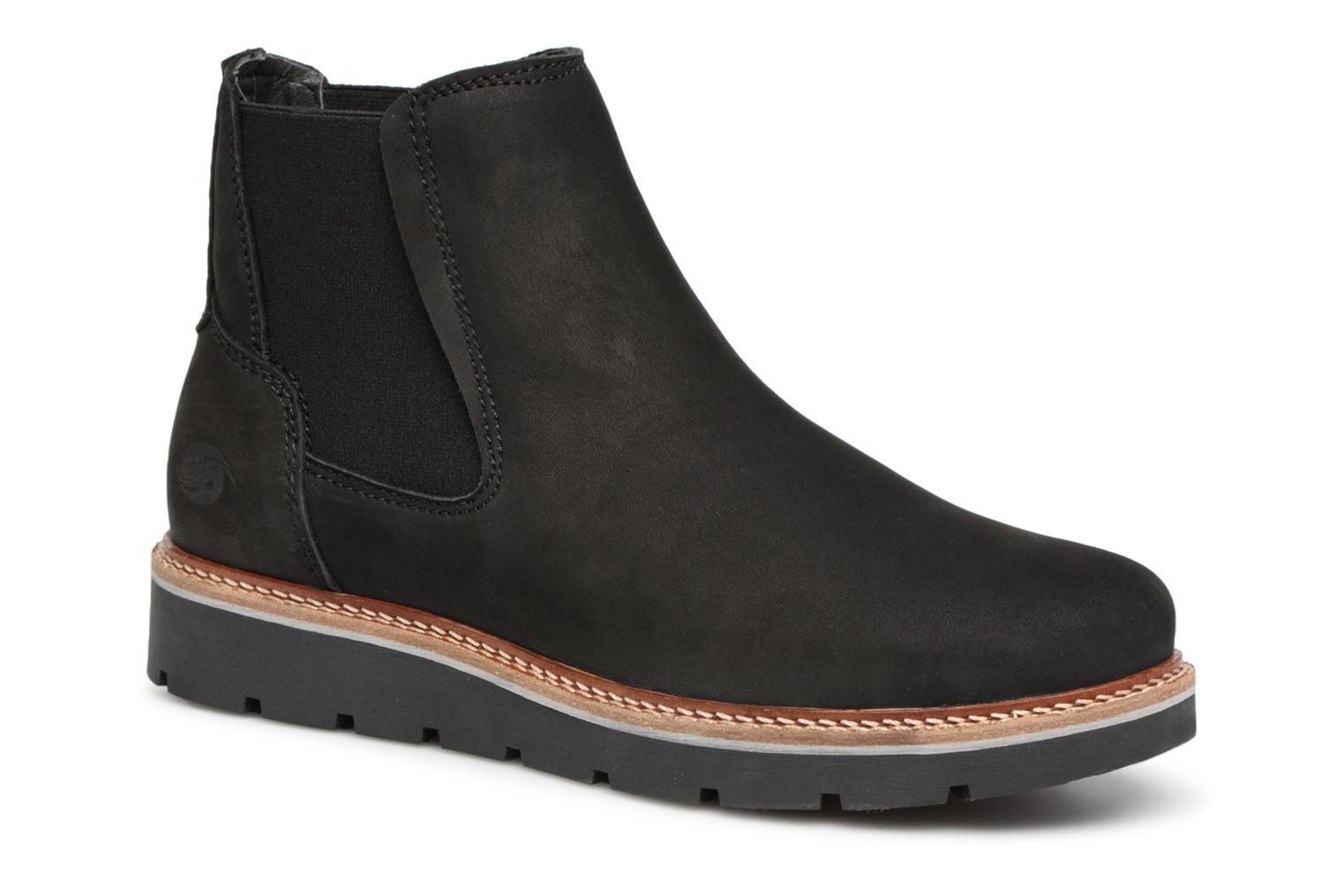 Ankle boots Dockers Greta Black detailed view/ Pair view