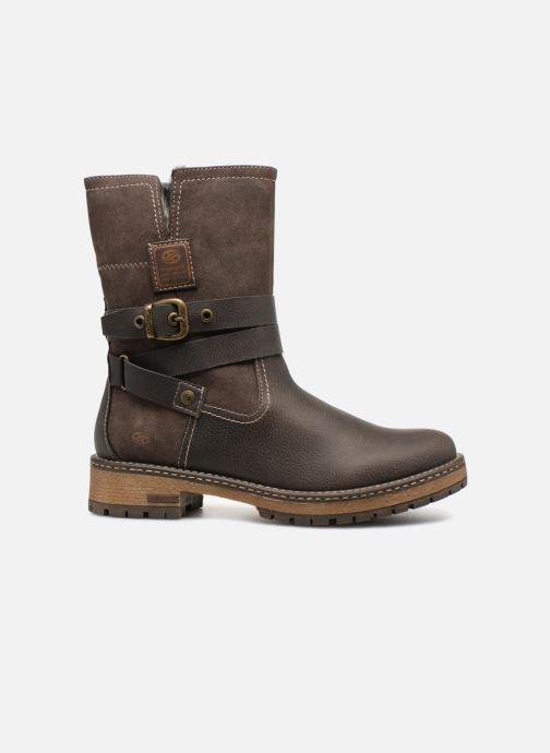 Bottines et boots Dockers Hanne Marron vue derrière
