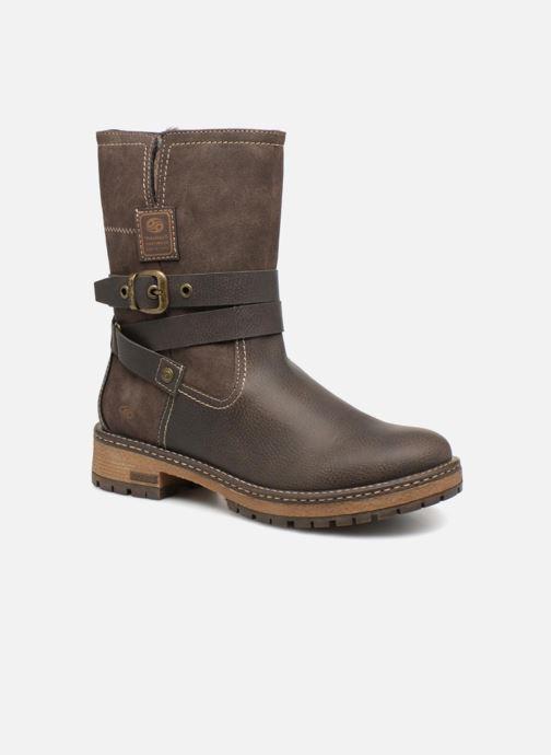 Bottines et boots Dockers Hanne Marron vue détail/paire