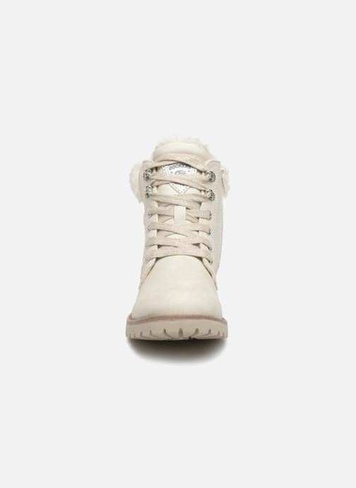 Bottines et boots Dockers Elena Blanc vue portées chaussures