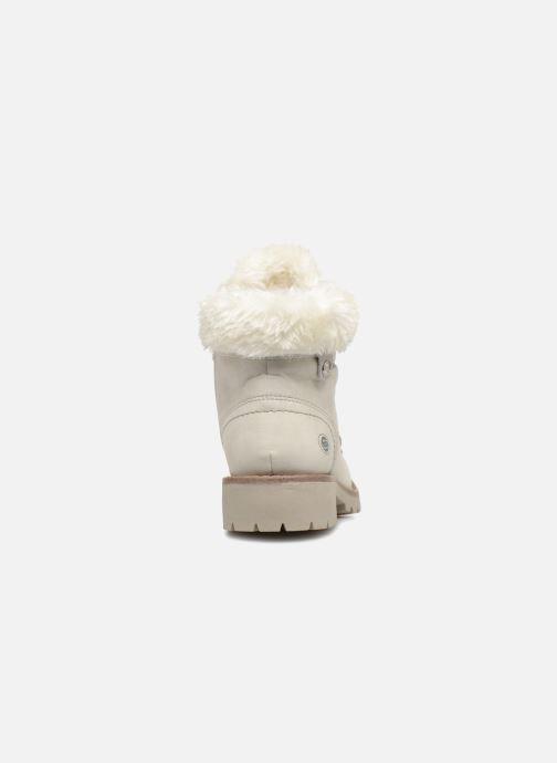Bottines et boots Dockers Elena Blanc vue droite