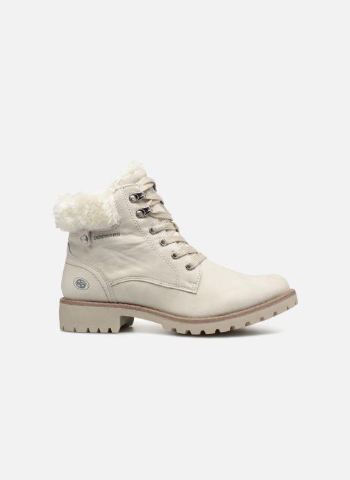 Bottines et boots Dockers Elena Blanc vue derrière