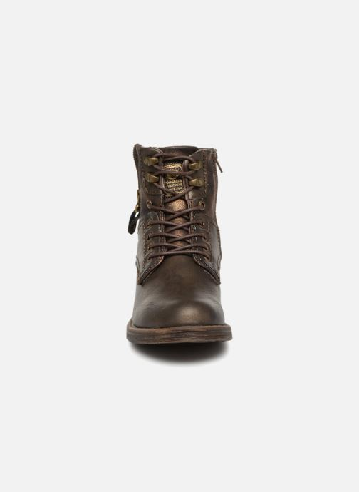 Bottines et boots Dockers Irene Or et bronze vue portées chaussures
