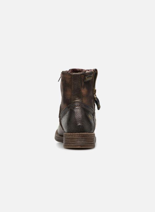 Bottines et boots Dockers Irene Or et bronze vue droite
