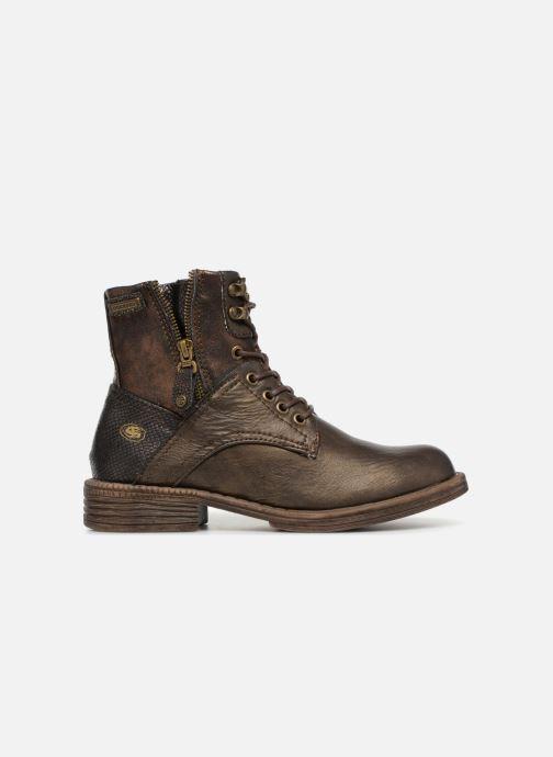 Bottines et boots Dockers Irene Or et bronze vue derrière