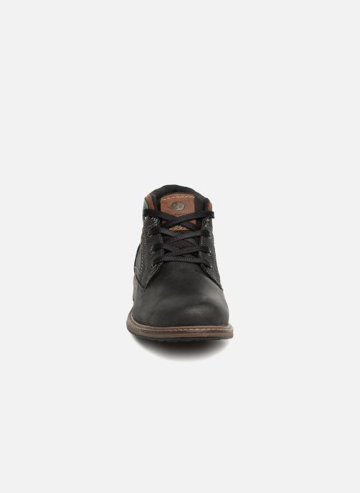 Bottines et boots Dockers Adam Noir vue portées chaussures