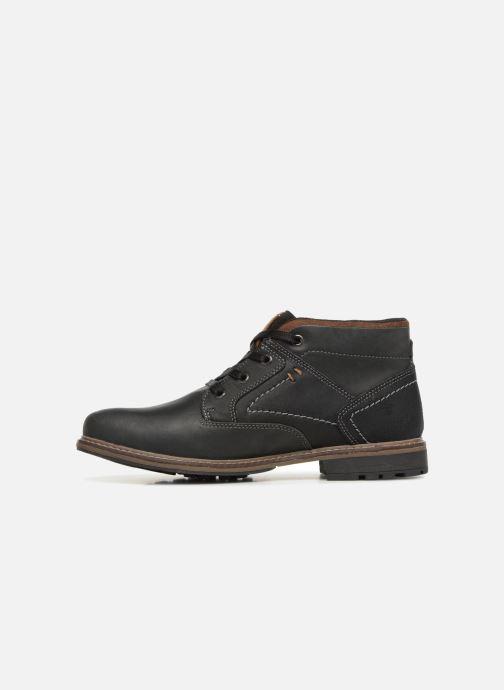 Bottines et boots Dockers Adam Noir vue face