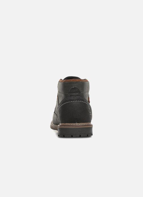 Bottines et boots Dockers Adam Noir vue droite