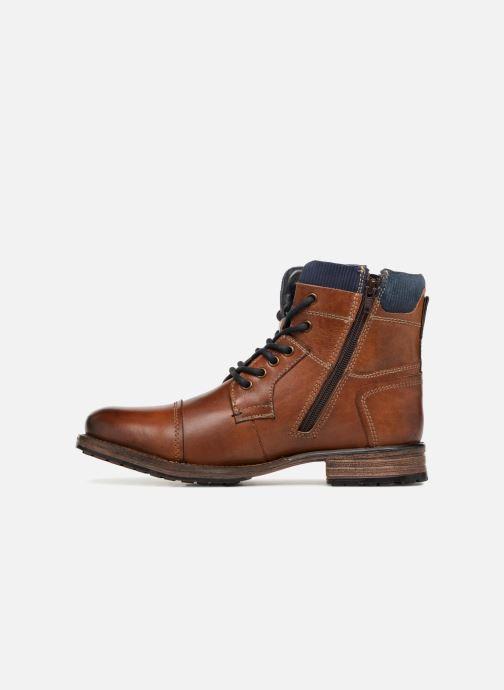 Bottines et boots Dockers Felix Marron vue face