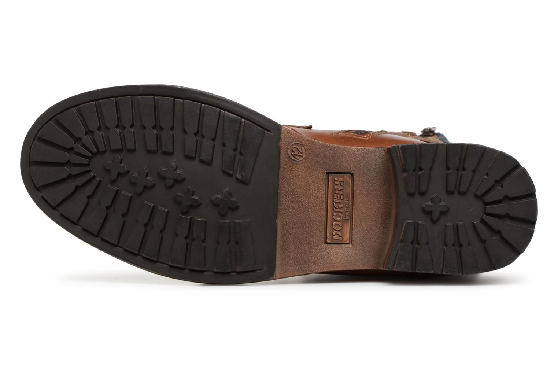 Bottines et boots Dockers Felix Marron vue haut