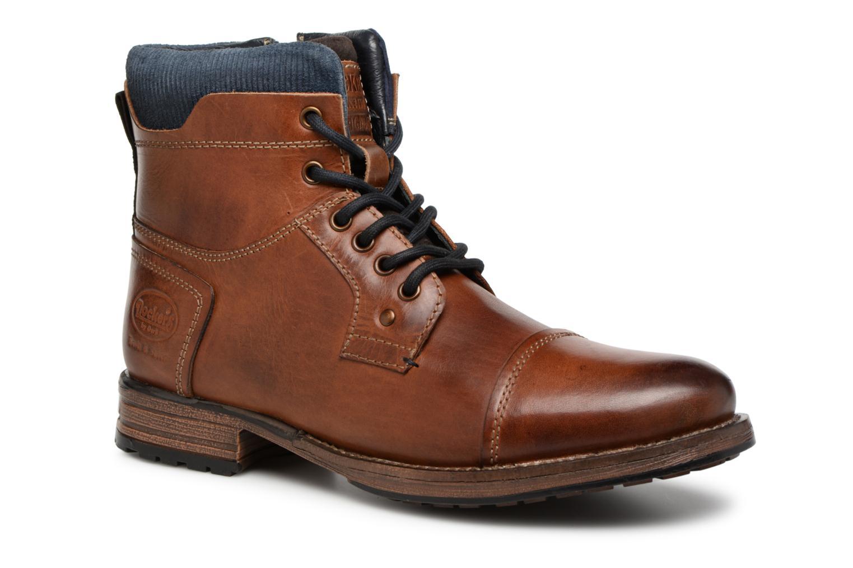 Bottines et boots Dockers Felix Marron vue détail/paire