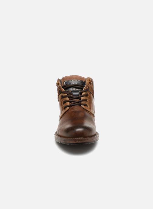 Bottines et boots Dockers Markus Marron vue portées chaussures