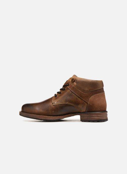 Bottines et boots Dockers Markus Marron vue face