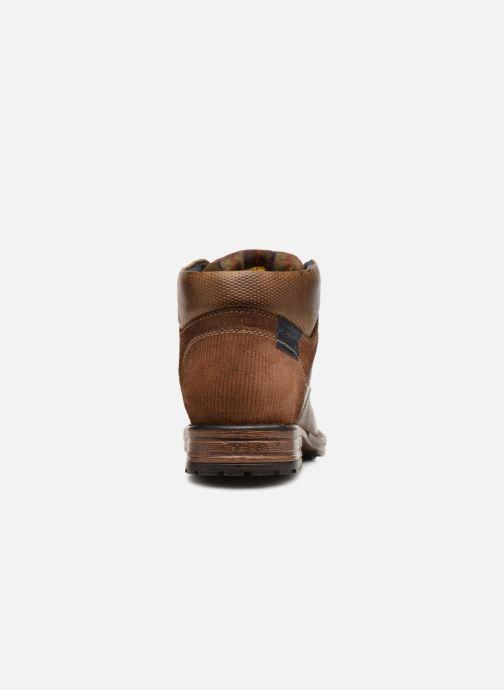 Bottines et boots Dockers Markus Marron vue droite