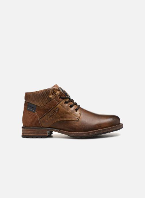 Bottines et boots Dockers Markus Marron vue derrière