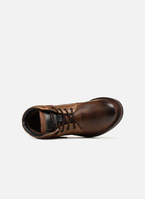 Bottines et boots Dockers Markus Marron vue gauche