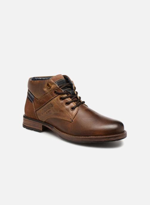 Bottines et boots Dockers Markus Marron vue détail/paire