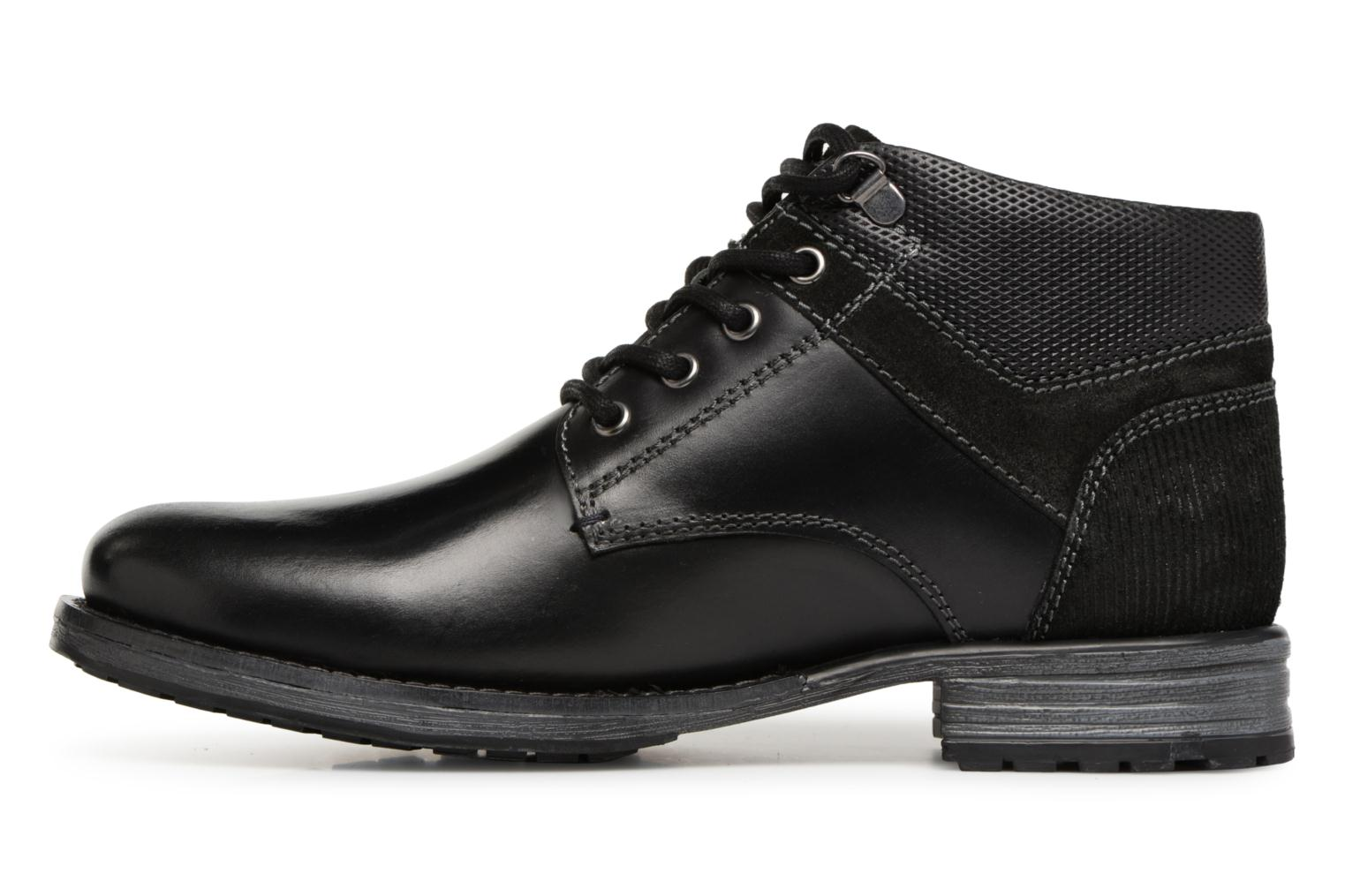 Bottines et boots Dockers Markus Noir vue face