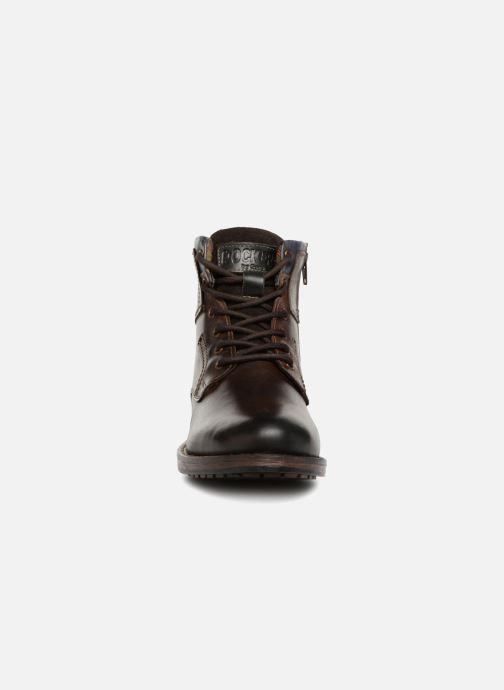 Bottines et boots Dockers Samson Marron vue portées chaussures