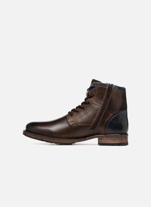 Bottines et boots Dockers Samson Marron vue face