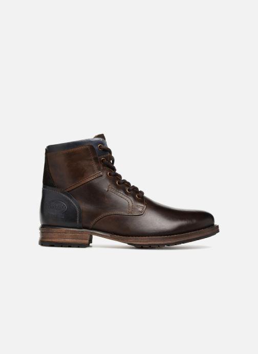 Bottines et boots Dockers Samson Marron vue derrière