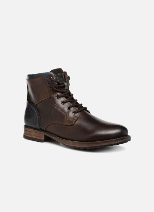 Bottines et boots Dockers Samson Marron vue détail/paire